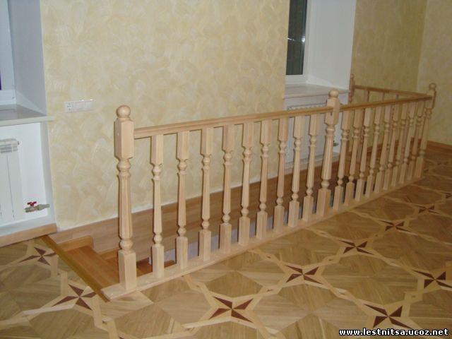 Лестница и перила на второй этаж своими руками