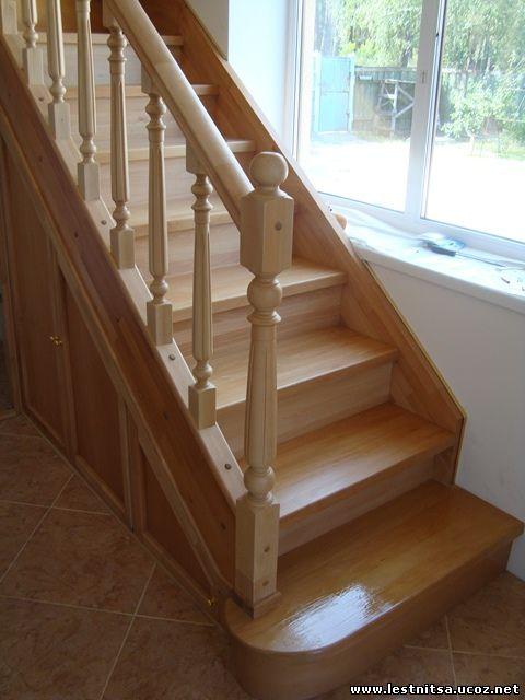 Лестница с подшивкой