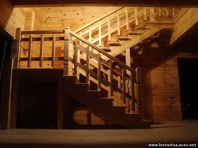 Лестница под старение