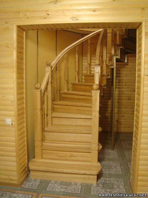 Дугообразная лестница