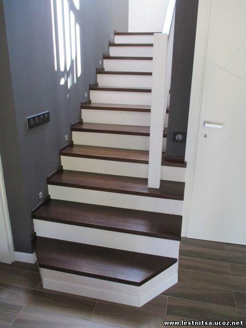 Лестница двух маршевая