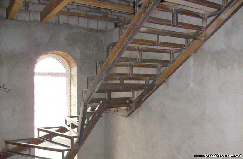 Каркасы для лестниц металлические своими руками